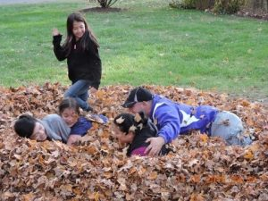 fall family time
